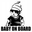 BABY ON BOARD STICKER (SORRY OUT OF STOCK)