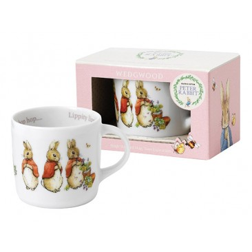 WEDGWOOD PETER RABBIT BABY GIRL MUG