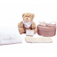 TEDDY & TOWEL  BOX - (sorry out of stock)