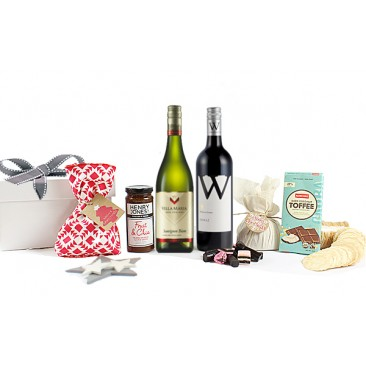 Wine & Foodie Christmas Box